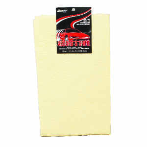 Acme  Synthetic  Chamois  42 in. L x 42 in. W 1 pk