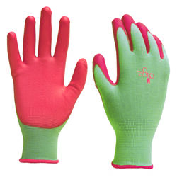 Digz  Women's  Indoor/Outdoor  Polyurethane  Gardening Gloves  Green  M  1 pk