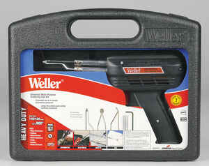Weller  Cooper Tools  12.1 in. Corded  Soldering Gun Kit  140 watts Red  1 pk