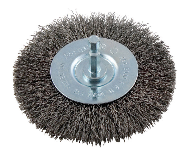 Forney 4 in. Crimped Metal 6000 rpm 1 pc. Wire Wheel Brush - Ace ...