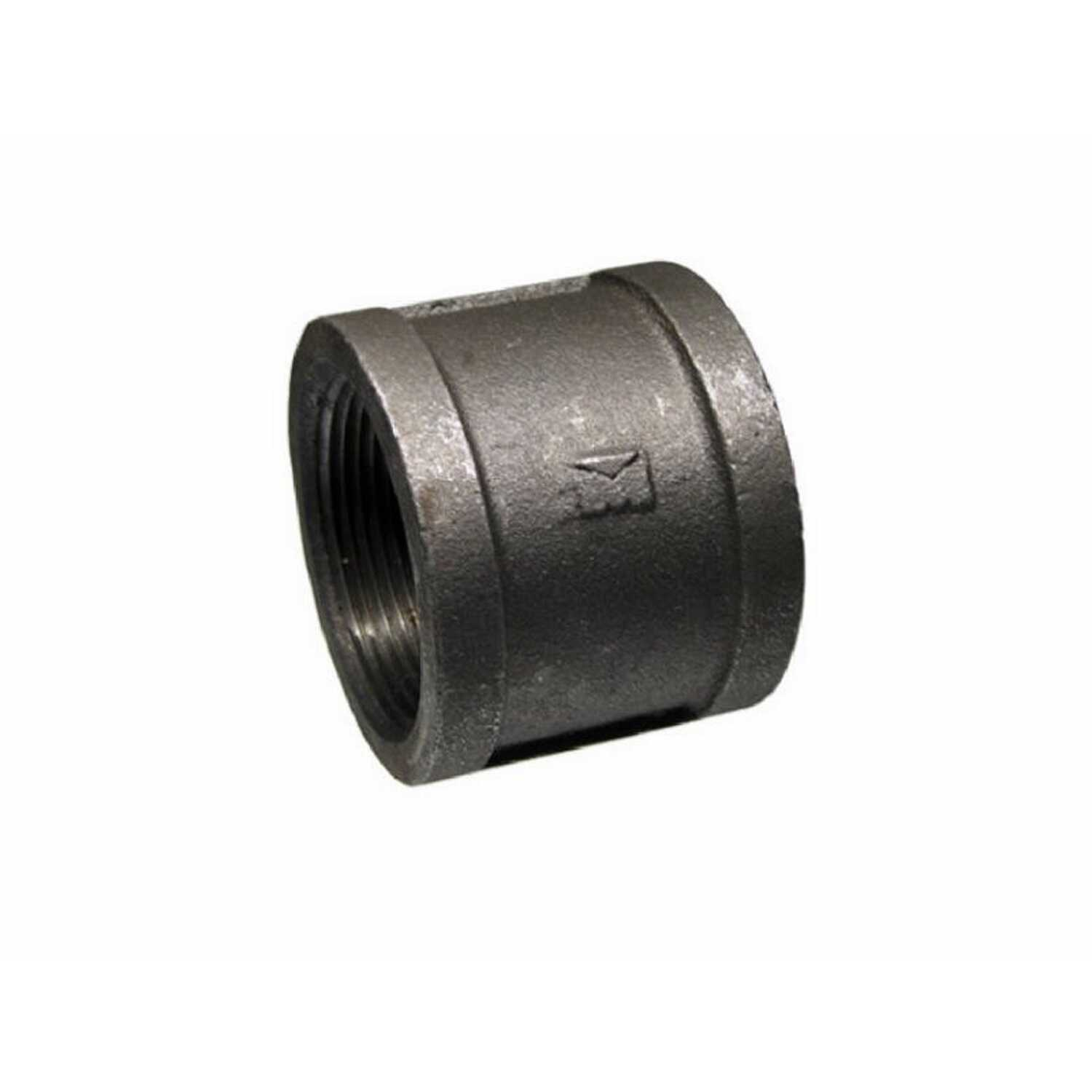 BK Products  Southland  2-1/2 in. FPT   x 2-1/2 in. Dia. FPT  Black  Malleable Iron  Coupling