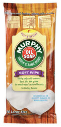 Murphy  Oil Soap  Lemon Scent Furniture and Cabinet Cleaner and Polish  18 pk Wipes