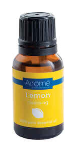 Candle Warmers Etc.  Airome  Lemon Scent Essentail Oil  15 ml 1 pc.