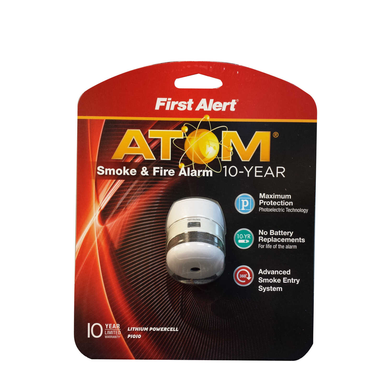 First Alert  Battery-Powered  Photoelectric  Smoke and Fire Alarm