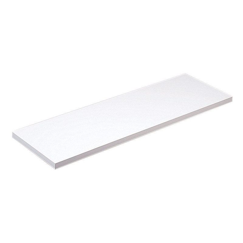 Knape & Vogt  36 in. D x 10 in. H x 10 in. W White  Melatex Laminate/Particle Board  Shelf Board