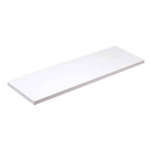 Knape & Vogt  10 in. H x 10 in. W x 36 in. D White  Melatex Laminate/Particle Board  Shelf