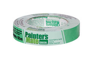 Painter's Mate  0.94 in. W x 2165 yd. L Masking Tape  Medium Strength  1 pk Green