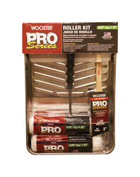 Wooster  Pro Series  9 in. W Cage  Paint Roller Kit  Threaded End