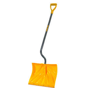 Ames  True Temper  Plastic  18 in. W x 4.5 ft. L Snow Shovel