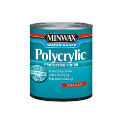 Minwax Gloss Clear Polycrylic 1 qt.