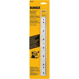 DeWalt  12-1/2 in. L Steel  Planer Blade  Double-Edged 3 pk