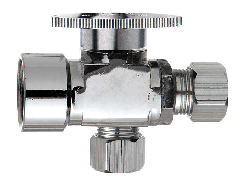 Ace  1/2  FPT   x 1/2   Brass  Shut-Off Valve