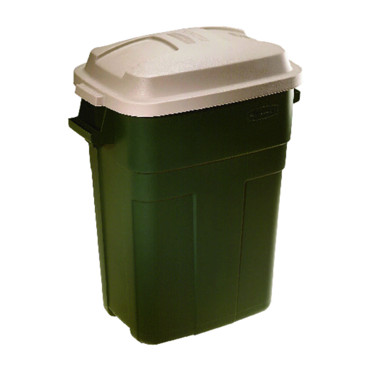 Rubbermaid  Roughneck  30 gal. Plastic  Garbage Can