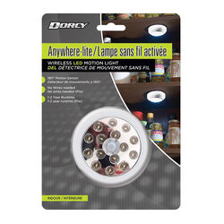 Dorcy  Automatic  Battery Powered  Anywhere-lite  LED  LED Nightlight with Sensor