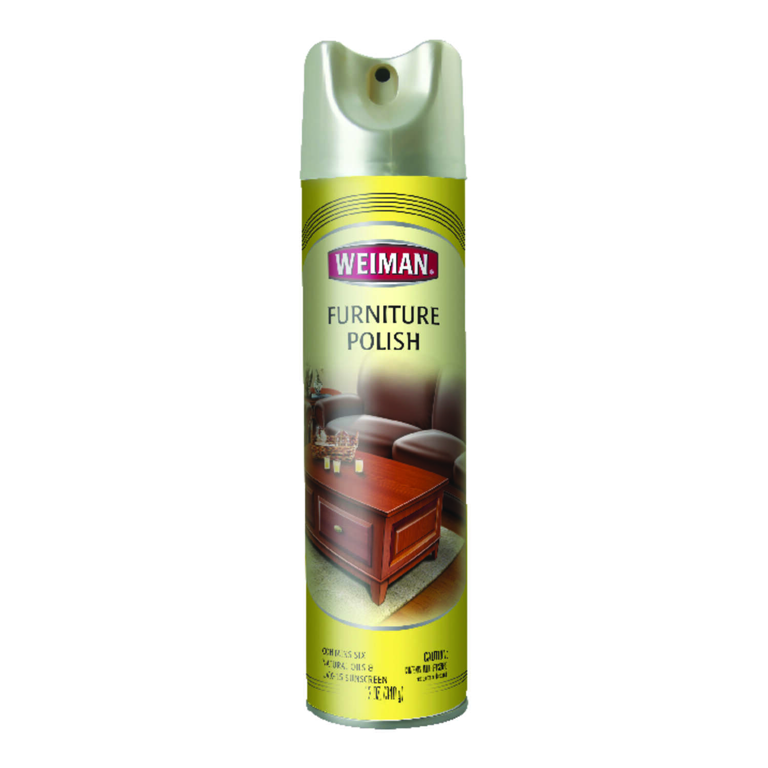 Weiman Lemon Scent Furniture Polish 12