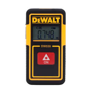 DeWalt  30 ft. L Laser Tape Measure  1 pk