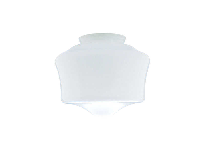 Westinghouse  Schoolhouse  White  Glass  Lamp Shade  6