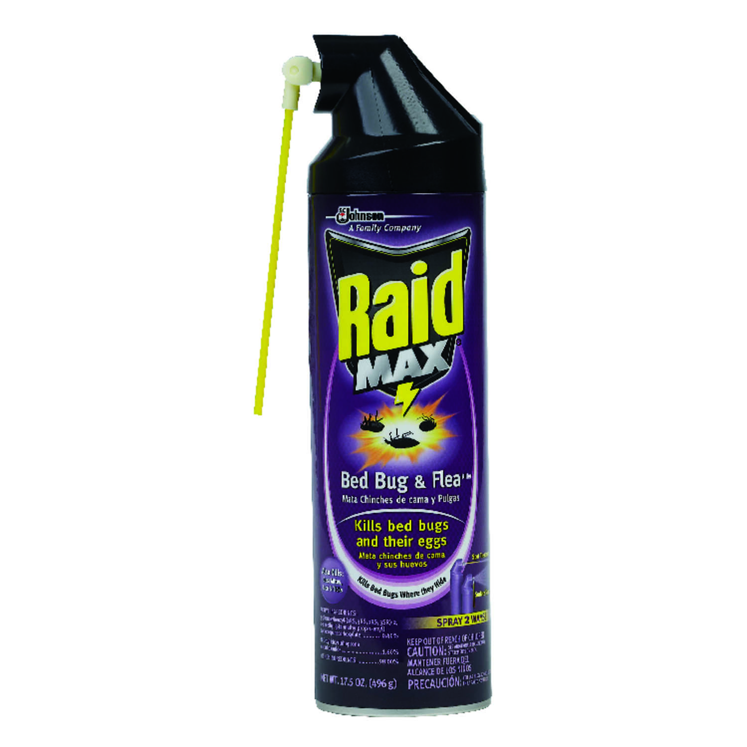 Raid  Insect Repellent  For Mites, Bed Bugs, Lice, Mites, Bed Bugs and Lice 17.5 oz. Liquid