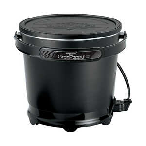 Gran Pappy  Black  6  Deep Fryer