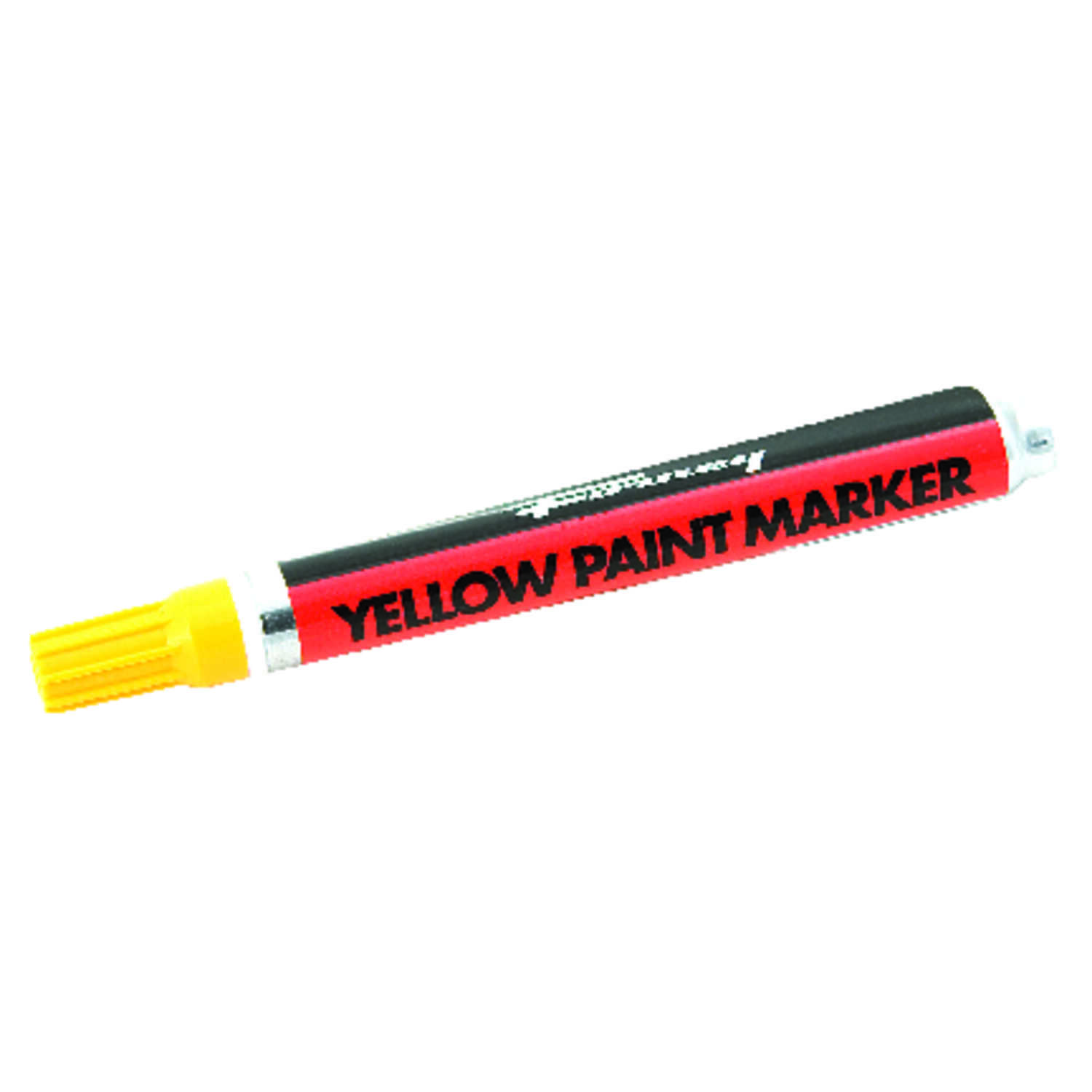 Forney  8.75 in. L x 1.88 in. W Yellow Paint Marker  1 pc.