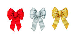 Holiday Trims Silver, Red, Gold Assortment Christmas Bow Miscellaneous Indoor Christmas Decor