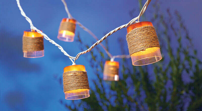 Living Accents  Rope Light Set  7.5 ft. Clear Iridescent