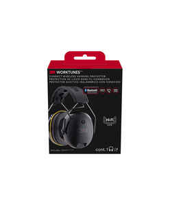 3M  24 dB Soft Foam  Earmuffs  Black  1 pair