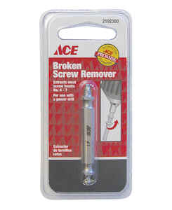 Ace  No. 4-7   x 3/8 in. Dia. Steel  Screw Extractor  1 pk