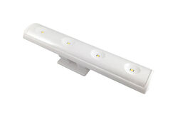 Westek  7.5 in. L White  Battery  LED  Pivot and Swivel Light  70 lumens