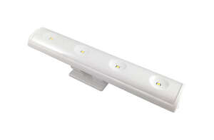 Westek  1.65 ft. L LED  White  70  Battery  Pivot and Swivel Light