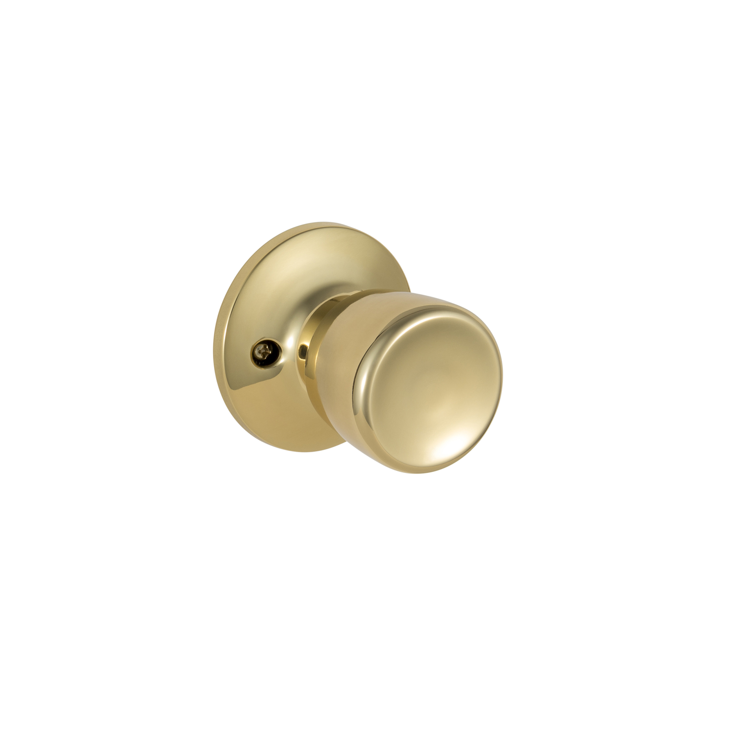 Ace  Tulip  Polished Brass  Steel  Dummy Knob  3 Grade
