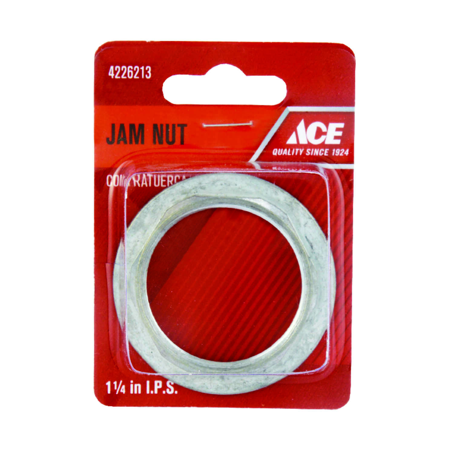 Ace  Stainless Steel  Die Cast Jam Nut  1-1/4 in. Dia.