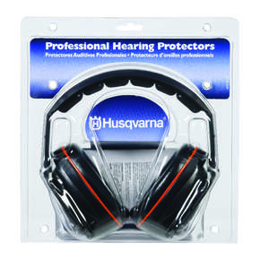 Husqvarna  25 dB Reusable  Nylon/Silicone/Soft Foam  Black  1  Professional Hearing Protectors