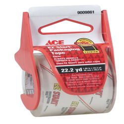 Ace 1.88 in. W x 22.2 yd. L Moving Tape Clear