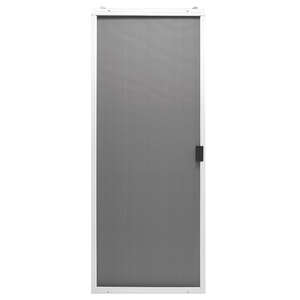 Superior  Breezeway Series  48 in. W x 80-3/4 in. H White  Adjustable Sliding Screen Door  Steel  Br