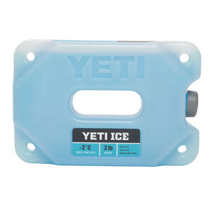 YETI  Ice Gel Pack  2 lb. 1 each Blue