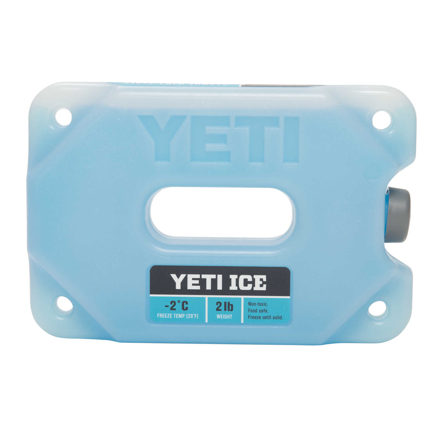 YETI  Ice Gel Pack  2 lb. Blue  1 pk