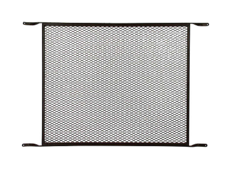 M-D Building Products  Aged Bronze  Bronze  Aluminum  Door Grille 19 in. L 32 in. W 1 pk
