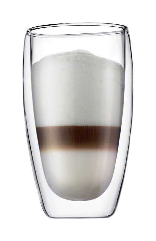 Bodum  15  Double Wall Tumbler  Clear