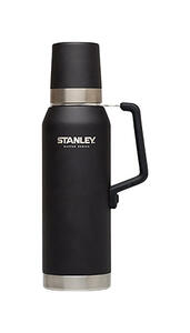 Stanley  1.4 qt. Insulated  Vacuum Bottle/Thermos  Black