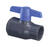 Spears  1-1/2 in. Slip   x 1-1/2 in. Dia. Slip  PVC  Utility Ball Valve