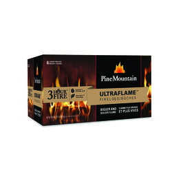 Pine Mountain  Ultra Flame  Fire Log  6 pk