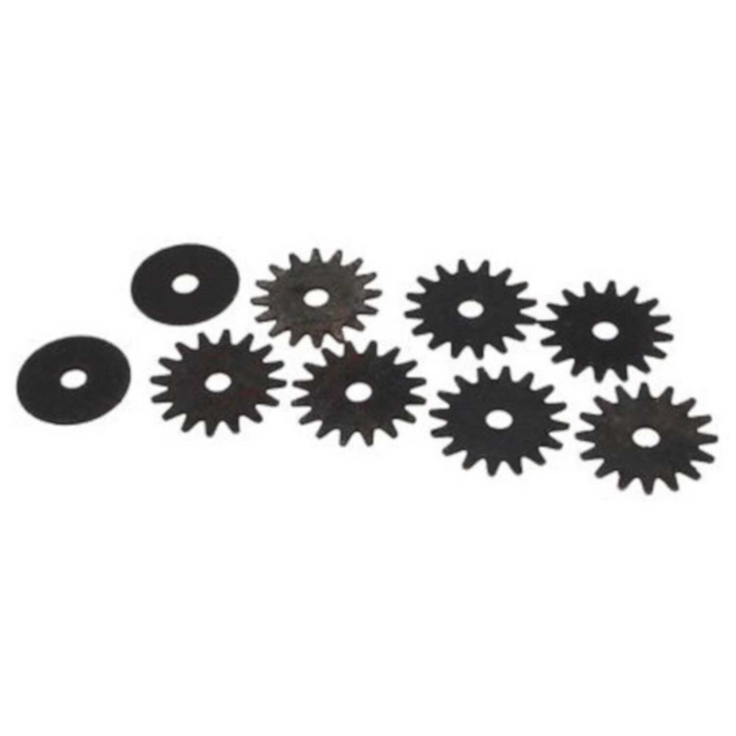 Forney  1-1/4 in. Dia. x 1/4 in. thick  Grinding Wheel  9 pc.