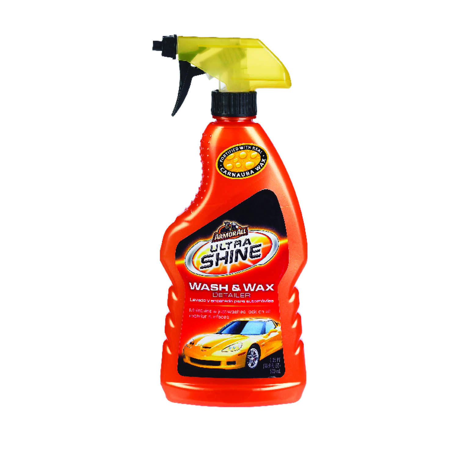 Armor All  Ultra Shine  Liquid  Automobile Polish/Wax  16.9 oz. For Removing Dirt And Stains