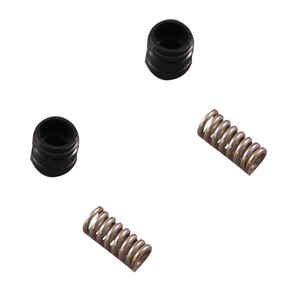 Ace  1/2-24 in. Rubber / Stainless Steel  Seats and Springs Kit  Milwaukee  1 pk