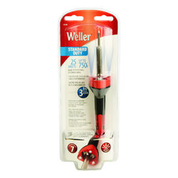 Weller  10.8 in. Corded  Soldering Iron Kit  25 watts Orange  1 pk