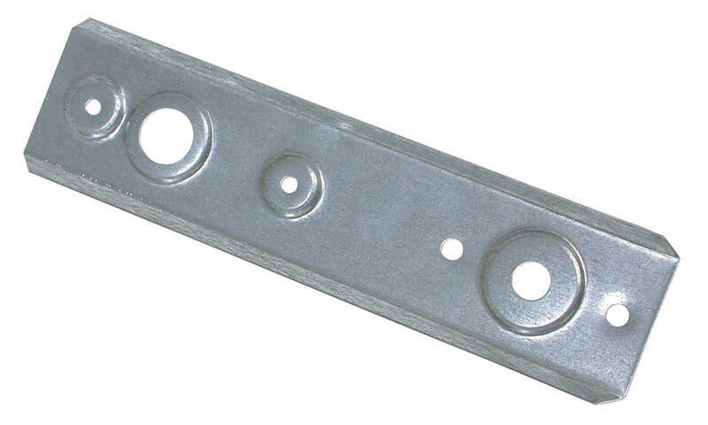 Dial  Steel  Silver  Float Valve Mounting Bracket