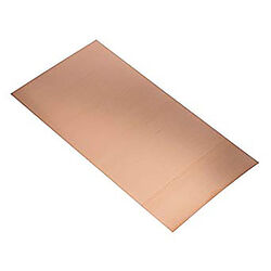 K&S  0.016 in.  x 6 in. W x 12 in. L Copper  Sheet Metal