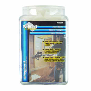 Wedge-It  1 in. W Plastic  Shim  300 pk