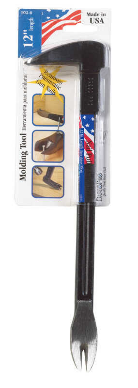 Dasco Pro  12 in. L High Carbon Steel  Nail Puller  Black  1 pk
